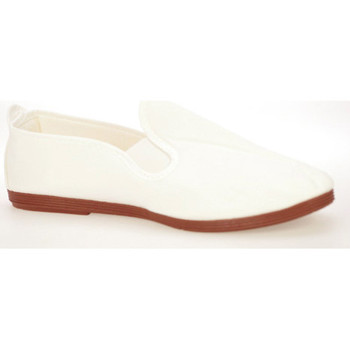 Chaussures Homme Slip ons Flossy  Blanc