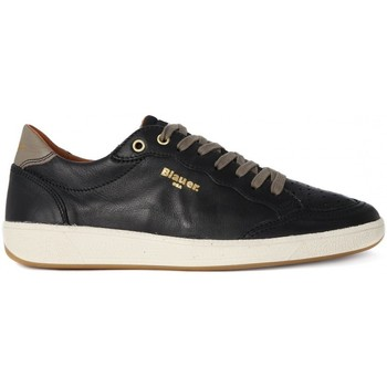 Chaussures Homme Baskets basses Blauer RETRO LOW BLACK Nero