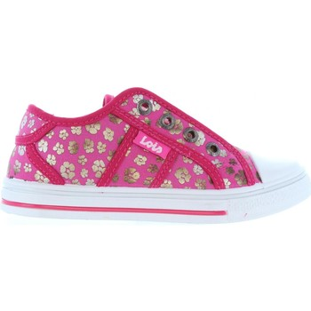 Chaussures Fille Baskets basses Lois Jeans 60033 Rosa