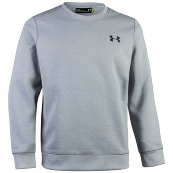 Vêtements Homme Sweats Under Armour Sweat  Storm rival cotton Gris Claire pour homme Gris