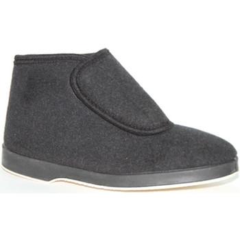 Chaussures Homme Boots Made In Spain 1940 Bota tissu velcro Soca en noir negro