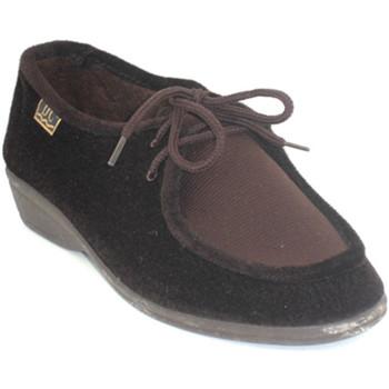 Chaussures Femme Derbies Doctor Cutillas Lacets de chaussures pieds délicats Doc marrón
