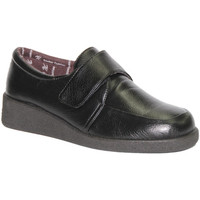 Chaussures Femme Mocassins Doctor Cutillas  Velcro chaussures pieds délicats Docto negro