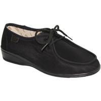 Chaussures Femme Derbies Doctor Cutillas  Lacets pieds d'été très délicate Docto negro