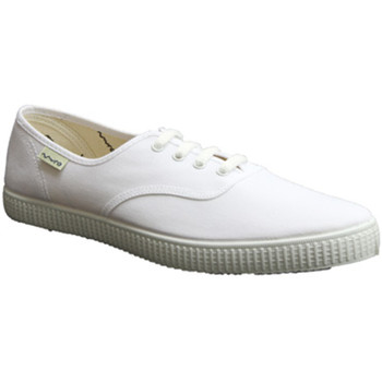 Chaussures Baskets basses Muro   Baskets de toile  en blanc blanco