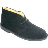 Chaussures Homme Boots El Corzo  Doublé Boot safari  en noir negro