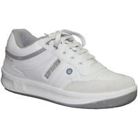 Chaussures Homme Baskets basses Paredes  Classic Sports lacets  en blanc blanco