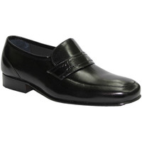 Chaussures Homme Mocassins Made In Spain 1940  Très large chaussure sans lacets Grimm negro