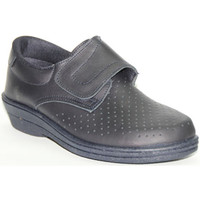 Chaussures Femme Mocassins Farma  Travail Clog velcro de la peau  e azul