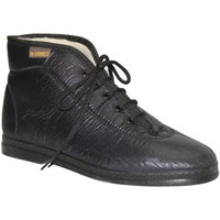 Chaussures Femme Baskets montantes De Carmelo  Matériaux de tissu imitant Boot De Car negro