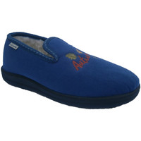 Chaussures Femme Chaussons Muro  fermé Slipper  en bleu azul