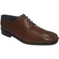 Chaussures Homme Derbies Made In Spain 1940  Robe en dentelle de cireur Grimmaldi e marrón