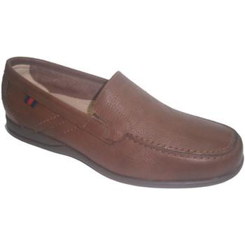 Chaussures Homme Mocassins Made In Spain 1940  Semelle en caoutchouc chaussure d'été marrón