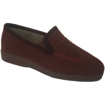 Chaussures Femme Mocassins Made In Spain 1940  Fermé moitié de coin Soca en grenat violeta