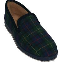 Chaussures Femme Chaussons Made In Spain 1940  Boîtes à chaussures classiques bordées azul