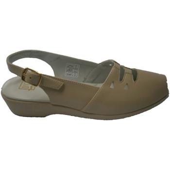 Chaussures Femme Sandales et Nu-pieds Doctor Cutillas  Sandale de caoutchouc sur l'empeigne a beige
