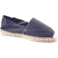 Chaussures Espadrilles Made In Spain 1940 Alpargatas alfa plat Made in Spain en no negro