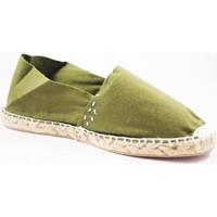 Chaussures Espadrilles Made In Spain 1940 Alpargatas alfa plat Made in Spain en ka blanco