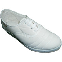Chaussures Femme Tennis Made In Spain 1940 Lacets de chaussures de Wedge à marcher blanco