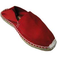 Chaussures Espadrilles Made In Spain 1940 Alpargatas alfa plat Made in Spain en ro rojo