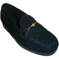 Chaussures Femme Mocassins Made In Spain 1940 Chaussons fermés chaîne de grille décora azul