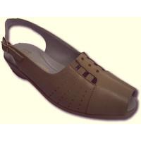 Chaussures Femme Sandales et Nu-pieds Doctor Cutillas Sandales dame très confortables gencives beige