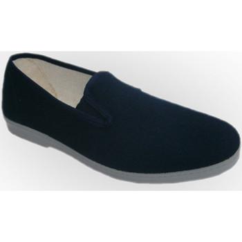Chaussons Chapines Chaussures de toile avec côtés en caoutc