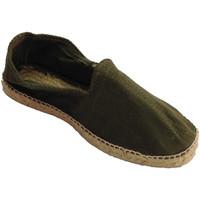 Chaussures Homme Espadrilles Made In Spain 1940 Chanvre sandales en tissu à chevrons et blanco