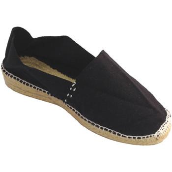 Chaussures Femme Espadrilles Made In Spain 1940 Alfa espadrille bas de coin Made in Spai negro