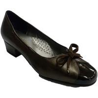 Chaussures Femme Mocassins Roldán Type de chaussures ballerines en cuir en marrón