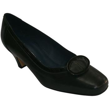 Chaussures Femme Ballerines / babies Pomares Vazquez Moyen de talon de chaussure avec motif c negro