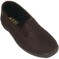 Chaussures Femme Chaussons Doctor Cutillas Lycra fermé chaussures avec élastique su marrón