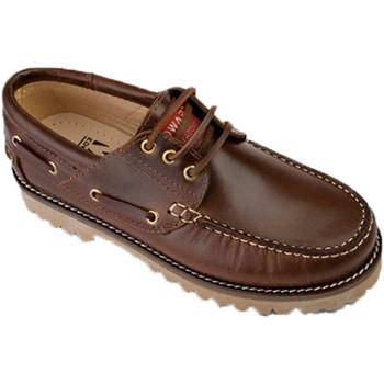 Chaussures Chaussures bateau Edward's Chaussures bateau seule graisse marrón
