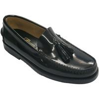 Chaussures Homme Mocassins Edward's Castellanos avec glands  en noir negro