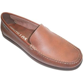 Chaussures Homme Mocassins Pitillos Mocassin lisse type de chaussure pelle P marrón