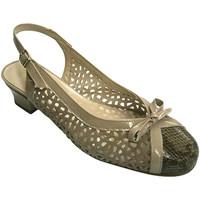Chaussures Femme Sandales et Nu-pieds Roldán Ouvrir chaussures femme talon bas fermé beige