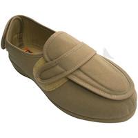 Chaussures Femme Chaussons Doctor Cutillas Femme de cireur très larges pieds avec t beige