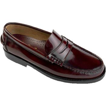 Chaussures Homme Mocassins Edward's Castellanos grandes tailles  en burdeos