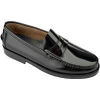Chaussures Homme Mocassins Edward's Castellanos grandes tailles  en negro