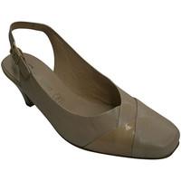 Chaussures Femme Escarpins Pomares Vazquez Robe de femme de cireur dos ouvert combo beige