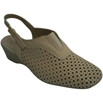 Chaussures Femme Escarpins Pomares Vazquez Peep retour femme projet beige
