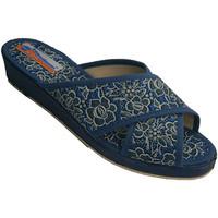 Chaussures Femme Mules Made In Spain 1940 Crzadas bandes lanières femme avec des f azul