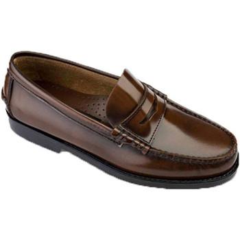 Chaussures Homme Mocassins Edward's Castellanos grandes tailles  en marrón