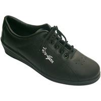 Chaussures Femme Sport Indoor Made In Spain 1940 femme de sport avec coin Fergar en noir negro