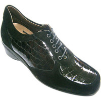 Chaussures Femme Richelieu Roldán Daim de chaussures et cuir verni femmes negro