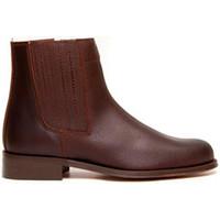 Chaussures Femme Bottines Danka Camper butin homme  en brun marrón