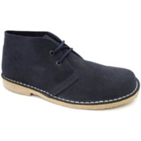 Chaussures Homme Boots Danka Large orteil boot safari  en bleu m azul