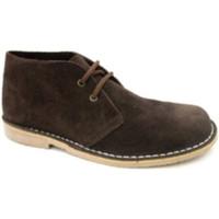 Chaussures Homme Boots Danka Large orteil boot safari  en brun marrón