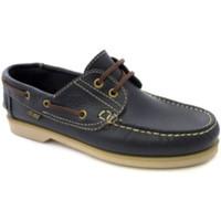 Chaussures Homme Chaussures bateau Danka Semelles fines nautiques  en bleu m azul