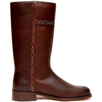 Chaussures Femme Bottes ville Danka Veste classique chaussure  en brun marrón